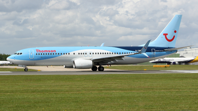 G-TAWI - Boeing 737-8K5 - Thomson Airways