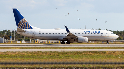 A picture of N36247 - Boeing 737824 - United Airlines - © John Mageropoulos