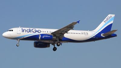 VT-IEP - Airbus A320-232 - IndiGo Airlines