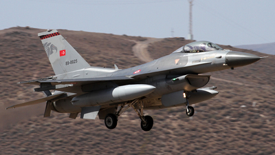 89-0025 - General Dynamics F-16C Fighting Falcon - Turkey - Air Force