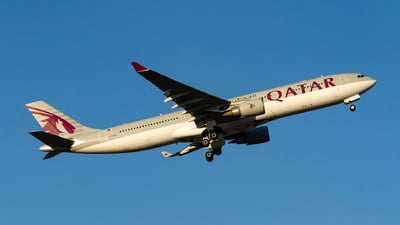 A picture of A7AEA - Airbus A330303 - Qatar Airways - © AvA
