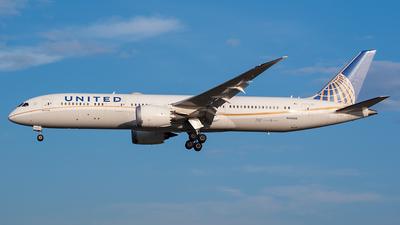 A picture of N45956 - Boeing 7879 Dreamliner - United Airlines - © Karsten S.