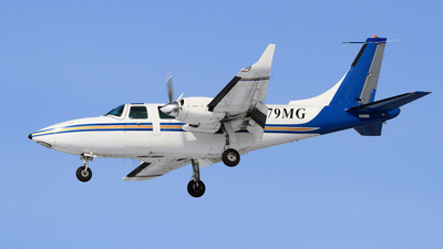 A picture of N79MG - Piper Aerostar 600 - Castle Aviation - © Michael Durning