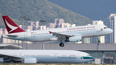 B-HSO - Airbus A320-232 - Cathay Dragon
