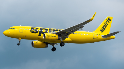 A picture of N623NK - Airbus A320232 - Spirit Airlines - © Evan Dougherty
