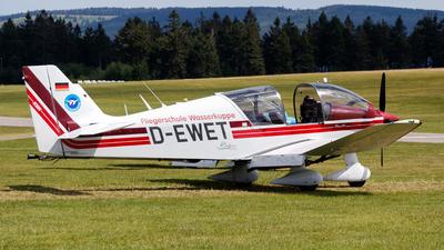 D-EWET - Robin DR400/180R Remorqueur - Fliegerschule Wasserkuppe