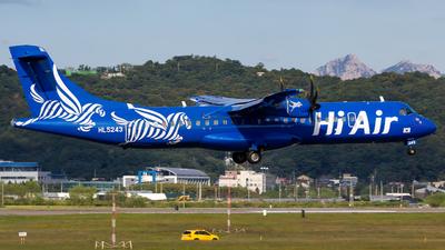 A picture of HL5243 - ATR 72500 - Hi Air - © sseca-Korea Aero Photos