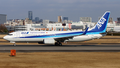 JA63AN - Boeing 737-881 - All Nippon Airways (ANA)