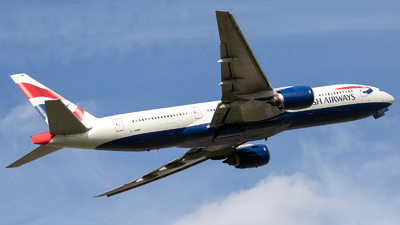 G-YMMF - Boeing 777-236(ER) - British Airways