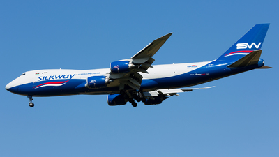 VQ-BVC - Boeing 747-83QF - Silk Way West Airlines