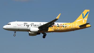 A picture of JA08VA - Airbus A320214 - Peach - © NRT Spotter
