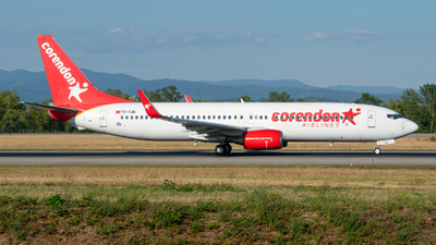 TC-TJU - Boeing 737-8HX - Corendon Airlines