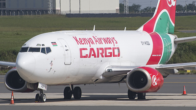 5Y-KQD - Boeing 737-3U8(SF) - Kenya Airways Cargo