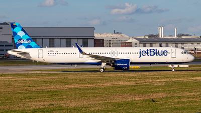 D-AVZQ - Airbus A321-271NX - jetBlue Airways