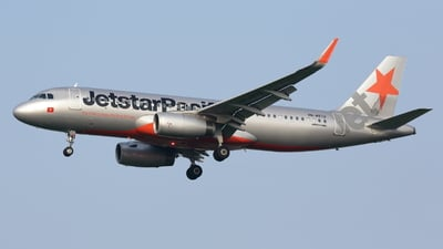 VN-A572 - Airbus A320-232 - Jetstar Pacific Airlines