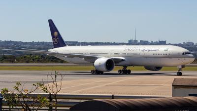 A picture of HZAK39 - Boeing 7773FG(ER) - Saudia - © DeltaFox Spotter