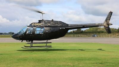 G-HANY - Agusta-Bell AB-206B JetRanger III - Heliflight UK