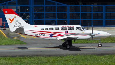 HK-3639 - Cessna 404 Titan - Sky Ambulance