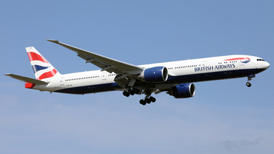 G-STBE - Boeing 777-36NER - British Airways