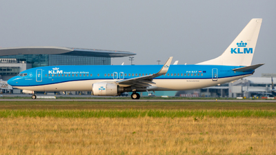 A picture of PHBXF - Boeing 7378K2 - KLM - © srmark