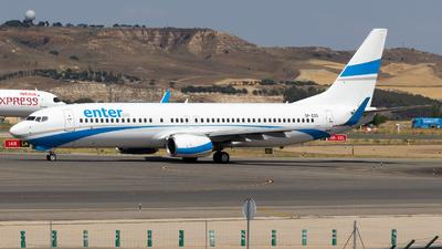 SP-ESD - Boeing 737-8AS - Enter Air