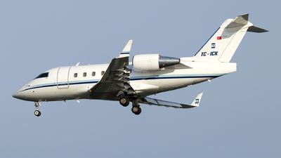 TC-ICK - Bombardier CL-600-2B16 Challenger 604 - Tarkim Aviation