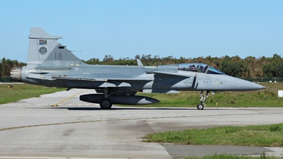 3918 - Saab JAS-39C Gripen - South Africa - Air Force