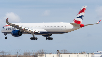 A picture of GXWBF - Airbus A3501041 - British Airways - © bill wang