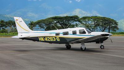 HK-4263-G - Piper PA-32R-301T Saratoga II TC - Private