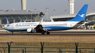 A picture of B1707 - Boeing 73785C - Xiamen Air - © MTG_001