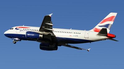G-EUPN - Airbus A319-131 - British Airways