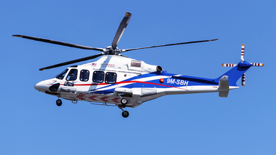 9M-SBH - Agusta-Westland AW-139 - SAZMA Aviation