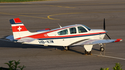 HB-KIW - Beechcraft F33A Bonanza - Private
