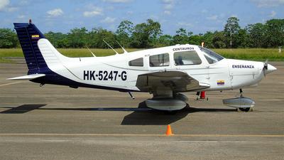 HK-5247-G - Piper PA-28-161 Cadet - Centauros Escuela de Aviación