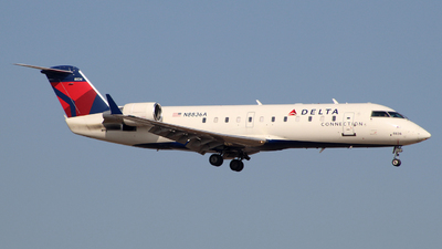 N8836A - Bombardier CRJ-200ER - Delta Connection (Pinnacle Airlines)