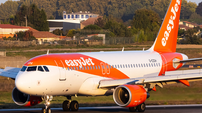 A picture of GEZGH - Airbus A319111 - easyJet - © Carlos Miguel Seabra