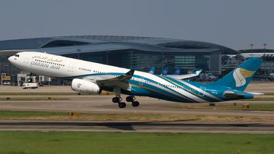 A picture of A4ODI - Airbus A330343 - Oman Air - © yiran