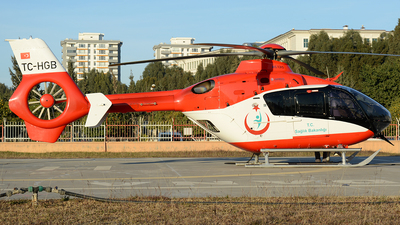 TC-HGB - Airbus Helicopters H135 - Turkey - Ministry of Health