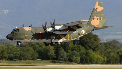 7T-WHR - Lockheed C-130H Hercules - Algeria - Air Force