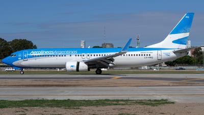LV-FRQ - Boeing 737-8BK - Aerolíneas Argentinas