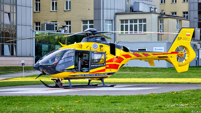 A picture of SPHXU - Airbus Helicopters H135 P2+ - Polish Medical Air Rescue - © Marcin Glodzik