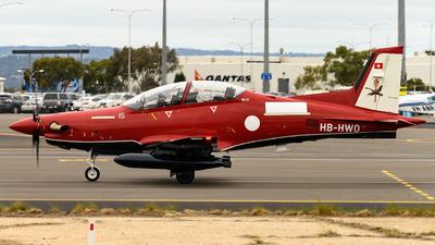 A picture of HBHWO - Pialtus PC21 - Pilatus Flugzeugwerke - © Andrew Lesty