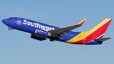 A picture of N934WN - Boeing 7377H4 - Southwest Airlines - © Positive Rate Photography
