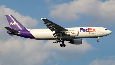 A picture of N733FD - Airbus A300B4605R(F) - FedEx - © wangruoyao
