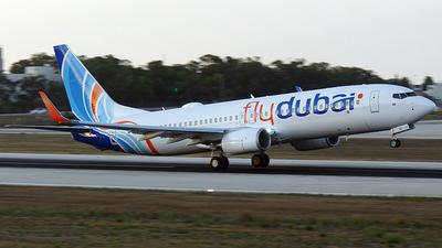 A6-FGC - Boeing 737-8KN - flydubai