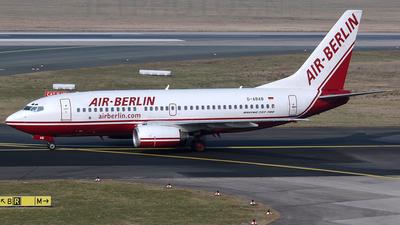 D-ABAB - Boeing 737-76Q - Air Berlin