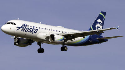 A picture of N847VA - Airbus A320214 - Alaska Airlines - © Andrew Seong