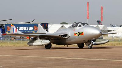 LN-DHZ - De Havilland Vampire T.55 - Private