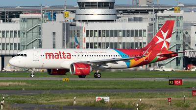 A picture of 9HNEO - Airbus A320251N - Air Malta - © Sebastian Thiel