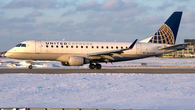 A picture of N649RW - Embraer E170SE - United Airlines - © Davis Dore